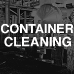 ATS container cleaning