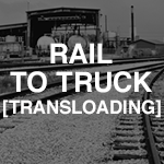 ATS rail to truck transloading